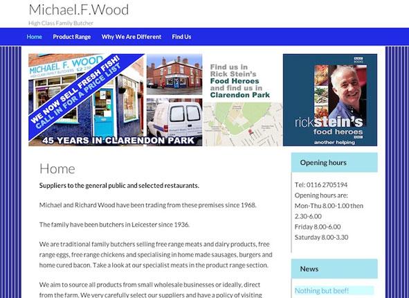 MF Wood - website