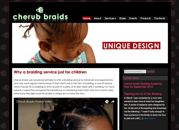 Cherub - Joomla conversion to WordPress