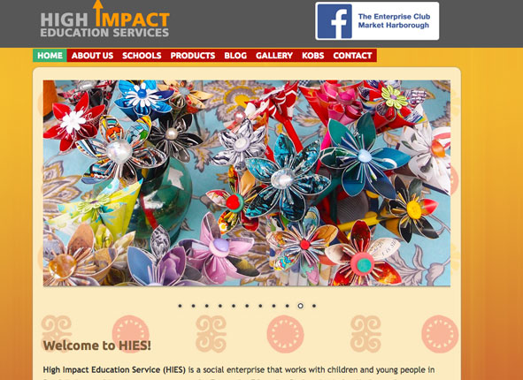 High Impact Education - websites and SEO