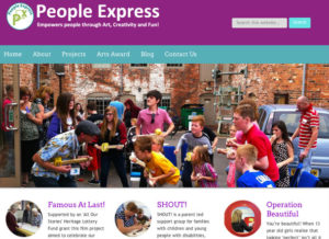 People Express - website and tuition