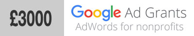 £3000 charity nfp deal with Google Adgrants